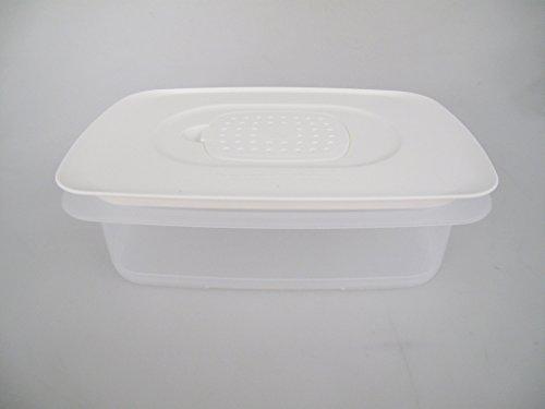 TUPPERWARE Cool`N Fresh 1,5 L Behälter + Klimadeckel weiß Coolsmart Stapelprofi