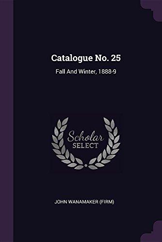 CATALOGUE NO 25