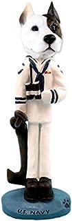Pit Bull Terrier U.S. Navy Doogie Collectable Figurine