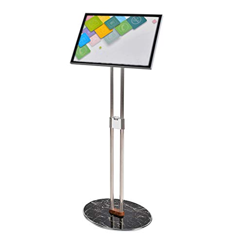 Dubbelbar Verticale Display Card, Billboard, Signage, Landing Mall Water Sign Display Rack, Store Acryl Merk Aantal Sterke en Eenvoudige Show