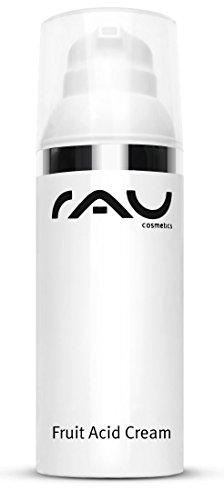 RAU Cosmetics Fruit Acid Cream 50 ml - Fruchtsäure Creme Ideal bei Reifer, Unreiner, Verhornter, pigmentierter & fahler Haut
