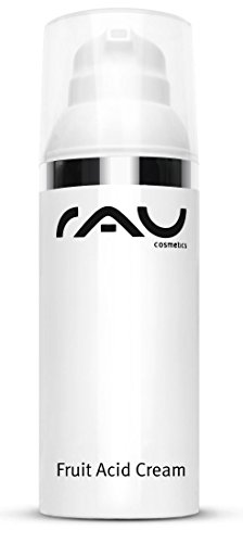 RAU Cosmetics Fruit Acid Cream 50 ml - Fruchtsäure Creme Ideal bei Reifer, Unreiner, Verhornter,...
