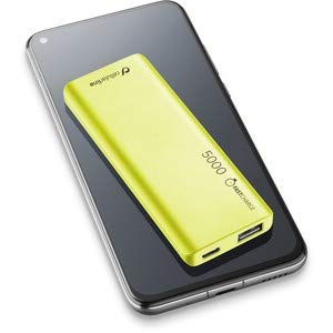 cellularline, FreePower Slim 5000, Lithium Polymer (LiPo) 5000mAh, Grün, tragbarer Akku