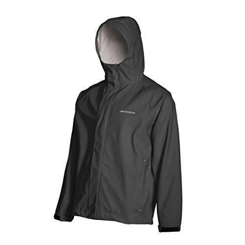 Grundens Men's Neptune Commercial Fishing Jacket | Waterproof, Adjustable, Green, XX-Large