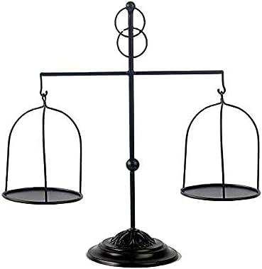 ktopnob LTD Decorative Farmhouse Scale Candleholder