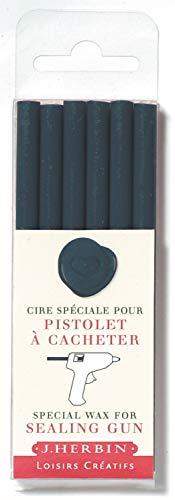 J.Herbin 35819T - Cera de sellos para pistola (6 barras, blandas), color...