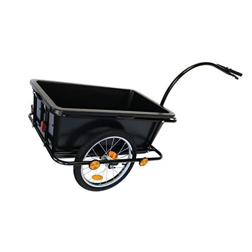 Generic - Carro de Acoplamiento neumático para Remolque de Bicicleta con Carga