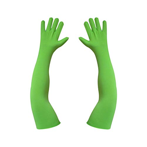 Backdropsource Chroma Key Green Screen Gloves One Pair for VFX Effects in Photos, Videos & Films