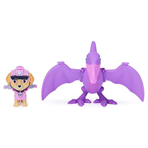 PAW Patrol Dino Rescue Skye y Dinosaurio Juego de Figuras de acción para niños a Partir de 3 años