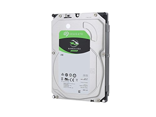Seagate Barracuda ST4000DM004 4000GB Serial ATA III internal hard drive - internal hard drives 4000 GB, Serial ATA III, 3.5', PC, HDD, 256 MB