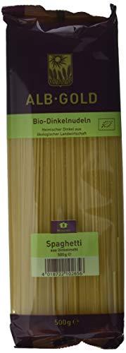 Alb-Gold Dinkel-Spaghetti, 1 Packung, (1 x 500 g) - Bio-Produkt