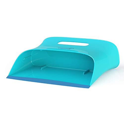 Spontex Catch & Clean, Kehrbesen mit Gummiborsten, Teleskopstiel und praktischem Auffangbehälter, hygienische und effiziente Reinigung für alle Bodenbeläge, 1 Set - 22