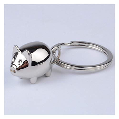 Porte-Clés 3D Décoration Charm Keyring Cadeaux 1pcs Gros télécommandes Beau Cadeau Mignon de Porc Mini-clé de Voiture Porte-clés Femmes présentes