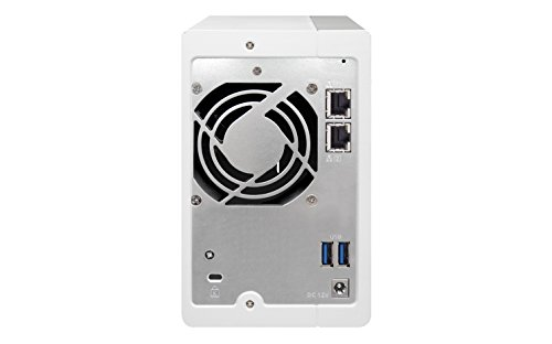 QNAP TS-231P 4TB 2-Bay NAS-Lösung   Installiert mit 2X 2TB WD RED HDDs