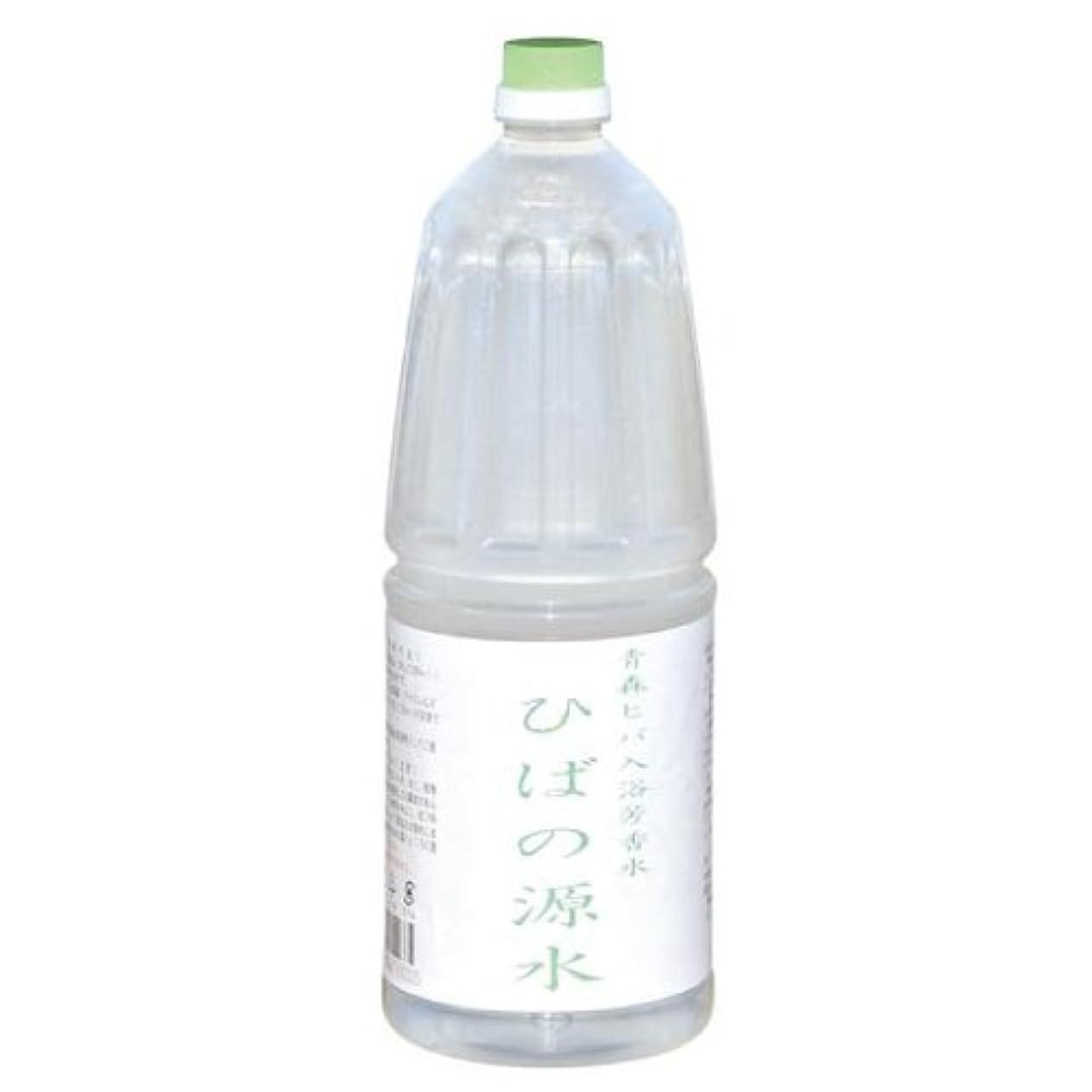 大臣プラス痛い青森ひば蒸留水 ひばの源水1800ml