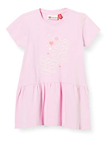Lego Wear Lwdina Robe, Rose (Rose 419), 98 Bébé Fille