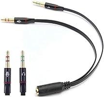Alfais 4457 Kulaklık Mikrofon Çevirici Ayırıcı Dönüştürücü Çoklayıcı Adaptör