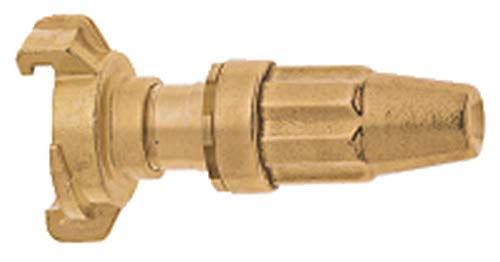 GEKA 84KSB Spritzdüse 1 Zoll mit Schnellkupplungs-Anschluss schwer, Gold, 18 x 8 x 13 cm