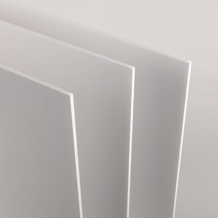 Feuille Carton Mousse 50x70 3mm, blanc – Lot de 25