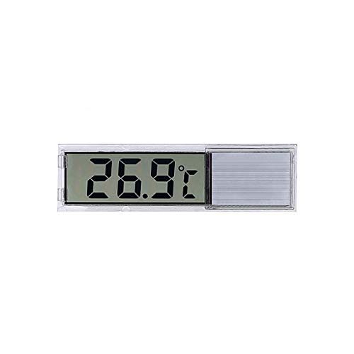 siwetg Aquarium Thermometer LCD 3D Digitale Elektronische Temperaturmessung Aquarium Temp Meter