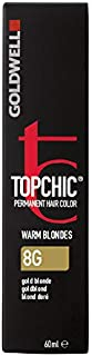 Goldwell Topchic Hair Color, 8g Gold Blonde, 2.03 Ounce