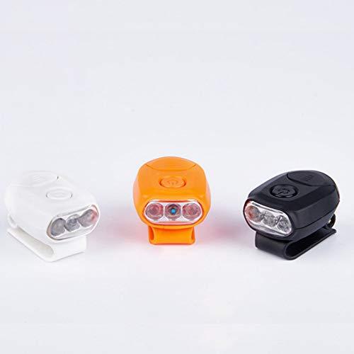 Pesca Cap Lampade Cappello Clip Faro 1 Pacco 3 LED Mani Libere Cappelli Baseball 90\xb0 Luce Regolabile per Pesca Campeggio Escursioni