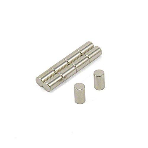 Magnetastico® | 40 Stück Neodym Magnete N52 Stab 4x7 mm | Kühlschrankmagnet Pinnwandmagnet Dauermagnet Whiteboardmagnet Haftmagnet Magnetstab Stabmagnet Zylindermagnet