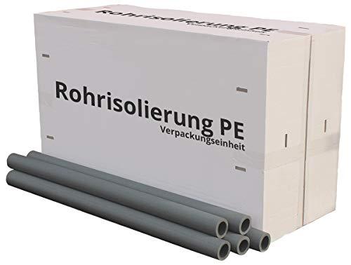 Rohrisolierung PE Isolierschlauch 9-20mm Dämmung, kompletter Karton/VPE (PE Rohrisolierung 9mm, 35mm x 9mm x 1m | 70m im Karton)