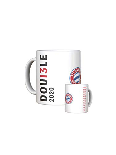 FC Bayern München Tasse Double 2020
