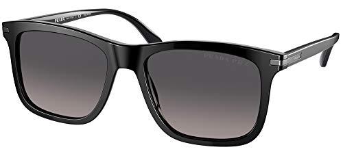 Prada Gafas de Sol PR 18WS Black/Grey Shaded 53/18/145 hombre