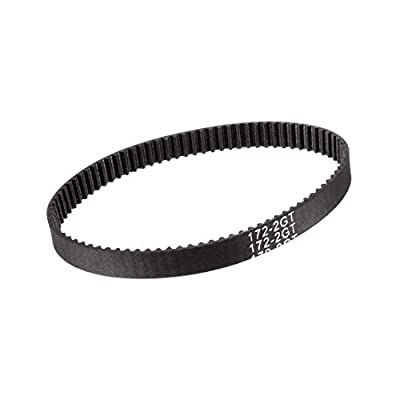 sourcing map GT2 Timing Belt 172mm Circumference 6mm Width Closed Fit Synchronous Pulley Wheel for 3D Printer