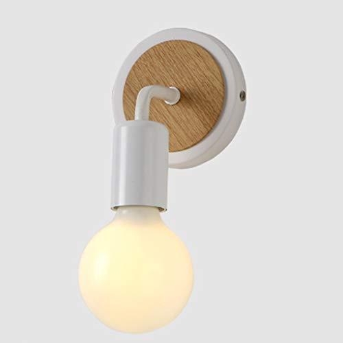 Yuansr Nórdica de Madera del Arte Minimalista lámpara de Pared LED lámpara de Pared del Fondo de la Sala de Estar Pasillo Pasillo lámpara de Noche Dormitorio Moderno Sencillo