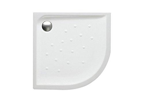 Roca A373507000 - Plato de ducha de porcelana angular con fondo antideslizante