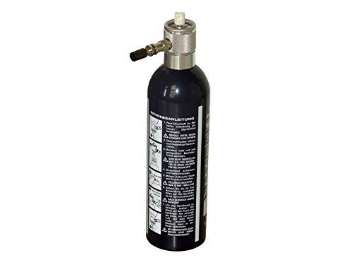 Rotek wiederbefüllbare Sprühflasche inkl. 4 Düsen - einfach Mittel einfüllen, mit Druckluft befüllen und sprühen