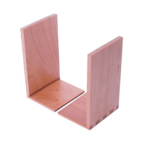 LTCTL Buchstütze Buchstützen aus Holz Spezielle Struktur Buchstützen Buche aus...