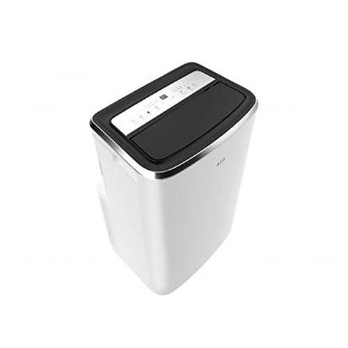 AEG Chillflex Pro AXP26U338CW mobiles Klimagerät (LED Display, Touch-Buttons, Fernbedienung, 30-40 m², Kühlfunktion, Ventilator, Entfeuchtungsfunktion, Automatik, weiß/silber/schwarz)