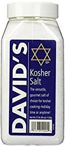 David#039s Kosher Salt The Versatile Gourmet Salt Of Choice 40 Oz Pack Of 3