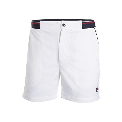 Fila Herren Oberbekleidung Shorts Stephan, weiß, XL