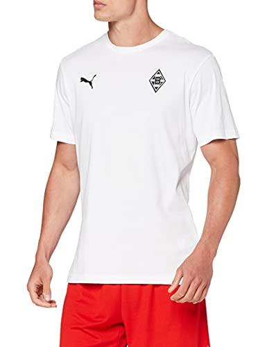 PUMA Bmg Badge Camiseta, Hombre, White, L