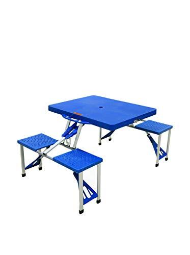 Galileo Casa Set Table avec chaises 5 unités. Bleu