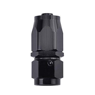 EVIL ENERGY Swivel Hose End Fitting Adapter Black