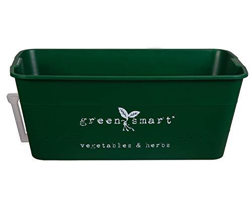 Macetas verdes inteligentes - Caja de plantas auto-regables para el cultivo de hierbas y vegetales en el hogar