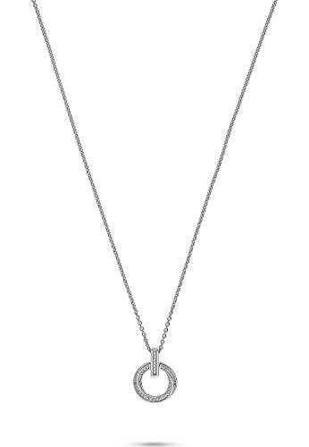 JETTE Damen-Kette 38 Zirkonia One Size Silber 32010633