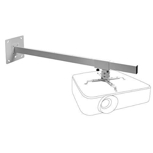 Celexon Muurbeugel MultiCel WM1000 voor beamer - wit - wandafstand tot 100 cm - tot 15 kg - kantelbaar en zwenkbaar