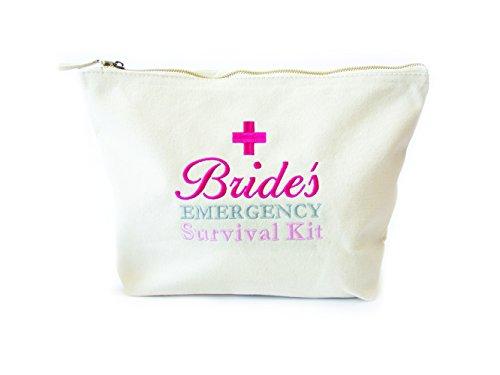 With Congratulations Bride's Survival Kit, Notfall Überleben Ausrüstung Tasche für eine Braut zu werden