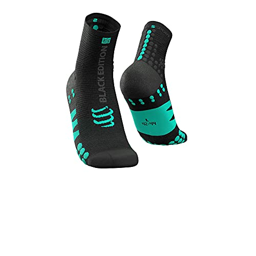 Compressport Pro Racing Calcetines V3.0 Run High - Negra Edition 2021 - AW21 - XL