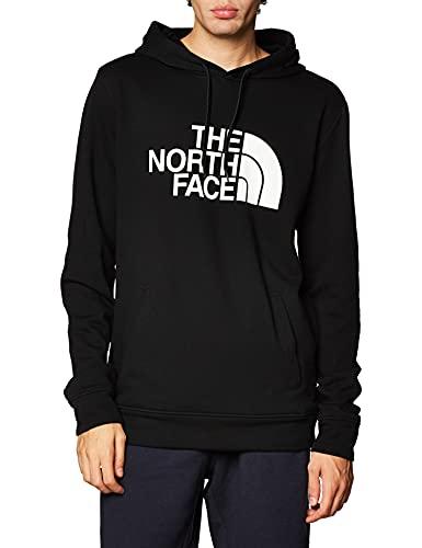 The North Face – Felpa con Cappuccio a Manica Lunga da Uomo Half Dome - Black, L