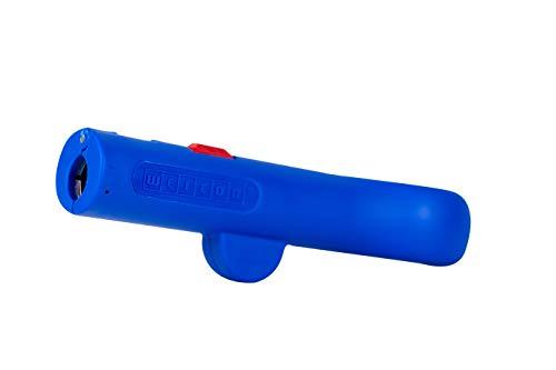 WEICON 52003013 Rundkabel-Stripper No.13 Classic – Entmanteler Rundkabel 8 – 13 mm Ø, Blau/Rot, 120mm