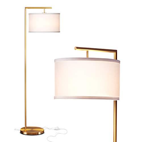Brightech Montage Modern - Floor Lamp for Living Room Lighting - Bedroom & Nursery Standing Accent Lamp - Mid Century, 5