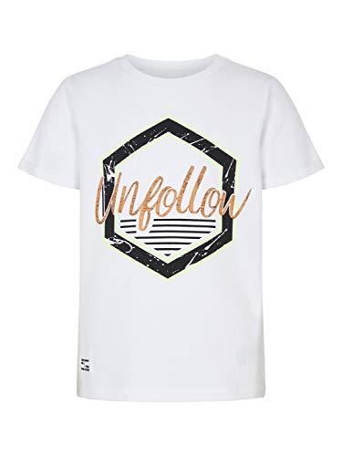Naam It NKMLALLAN kinder-T-shirt met ronde hals